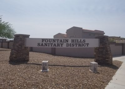 Sanitary District Sign