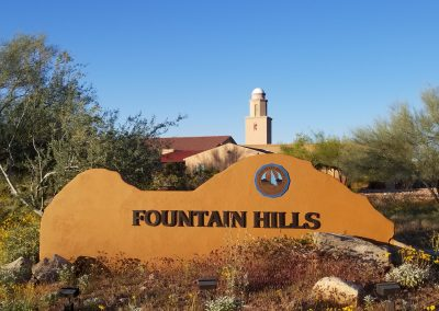 Fountain Hills Sign