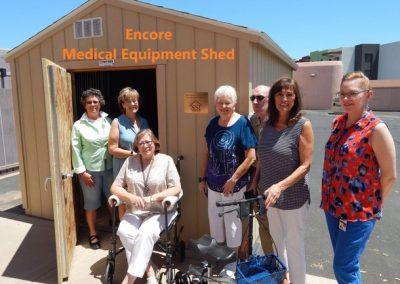 Medical Equipment Shed