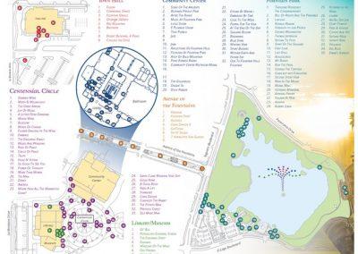 Fountain Hills Art Walk Map